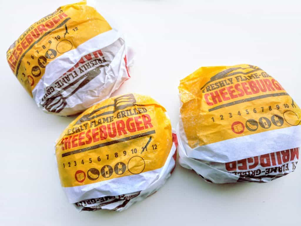 burgers at burger king for low carb keto diet