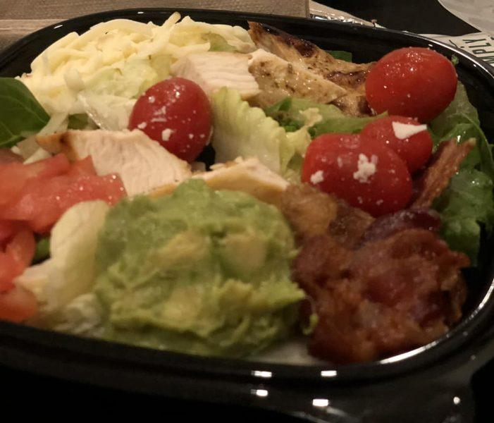 Wendy's Keto Salad