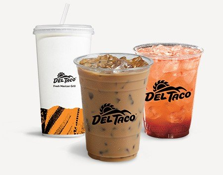 keto compatible drinks del taco fast food options