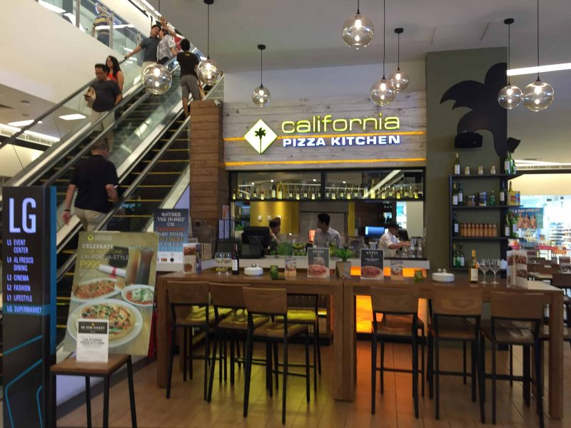 California Pizza Kitchen Canoga Park California
