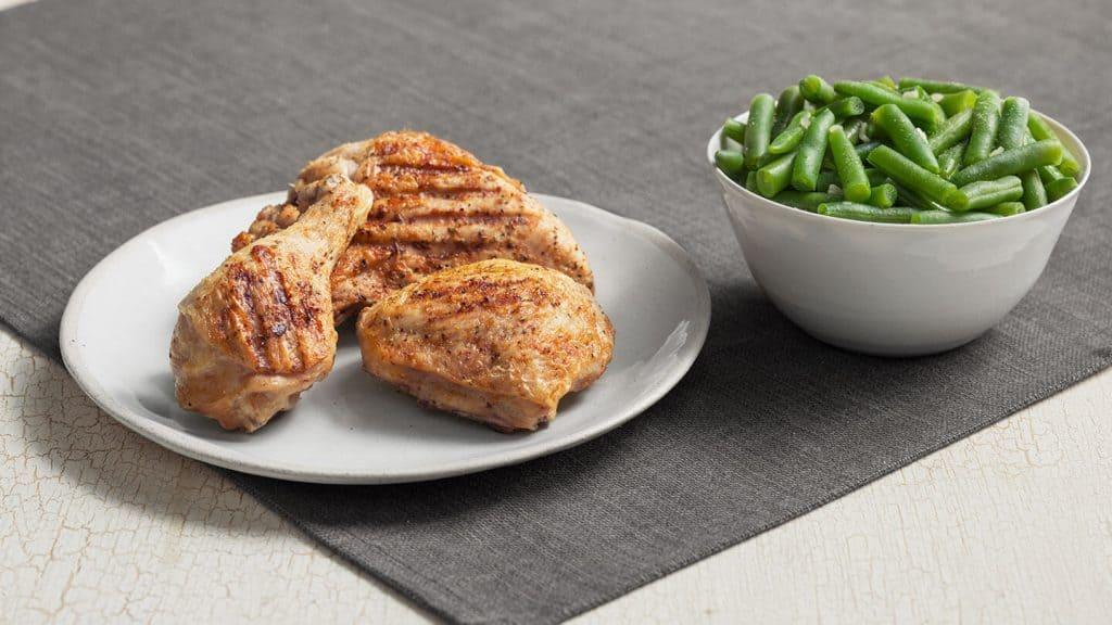 keto compatible meals KFC grilled chicken