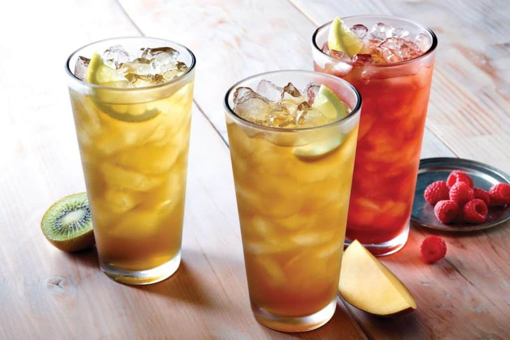 low carb applebee's drink options iced tea keto compatible