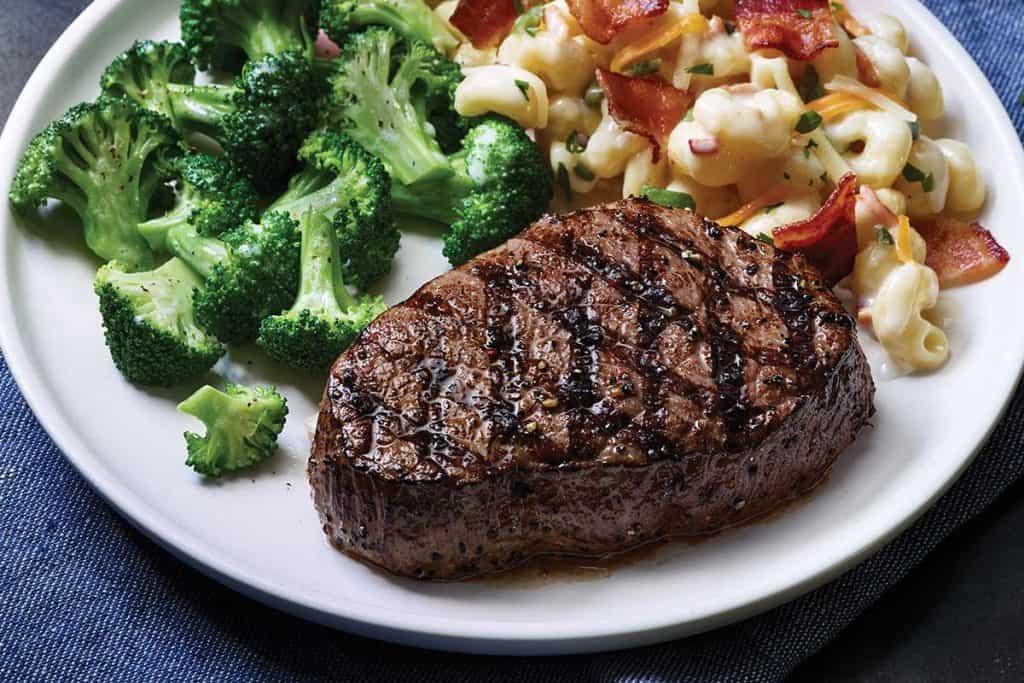 low carb diet entree options steak applebee's