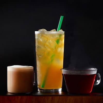 low carb diet friendly iced tea options at starbucks
