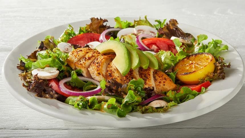 low carb keto compatible salad ihop