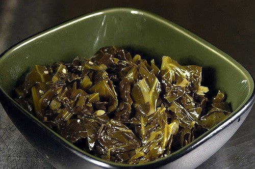 sides for low carb keto eaters famous daves collard greens