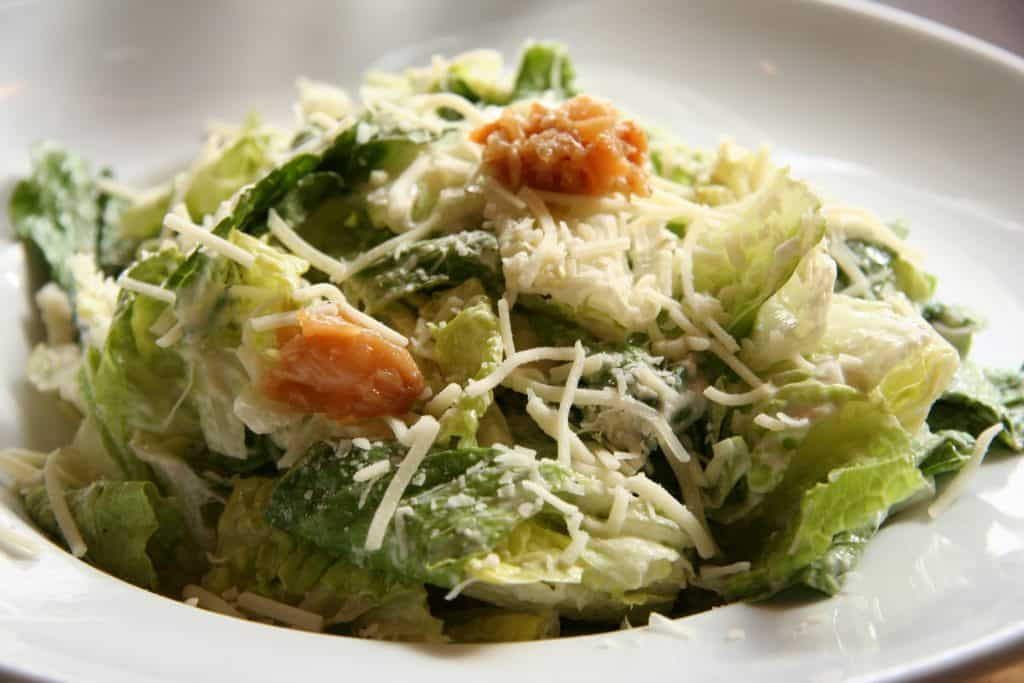 caesar salad good for keto salads bonefish grill
