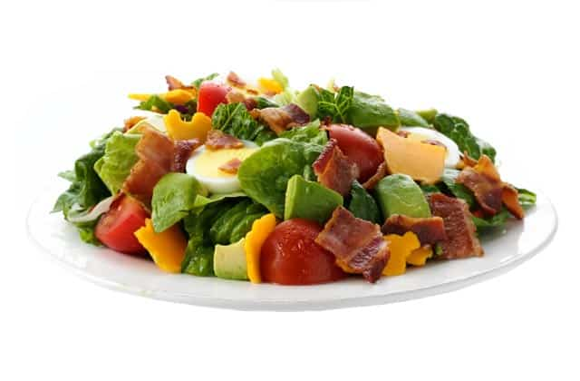 fuddruckers bacon avocado salad for low carb diets