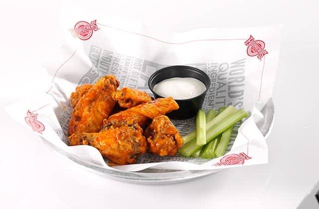 keto dieters appetizer options fuddruckers buffalo wings